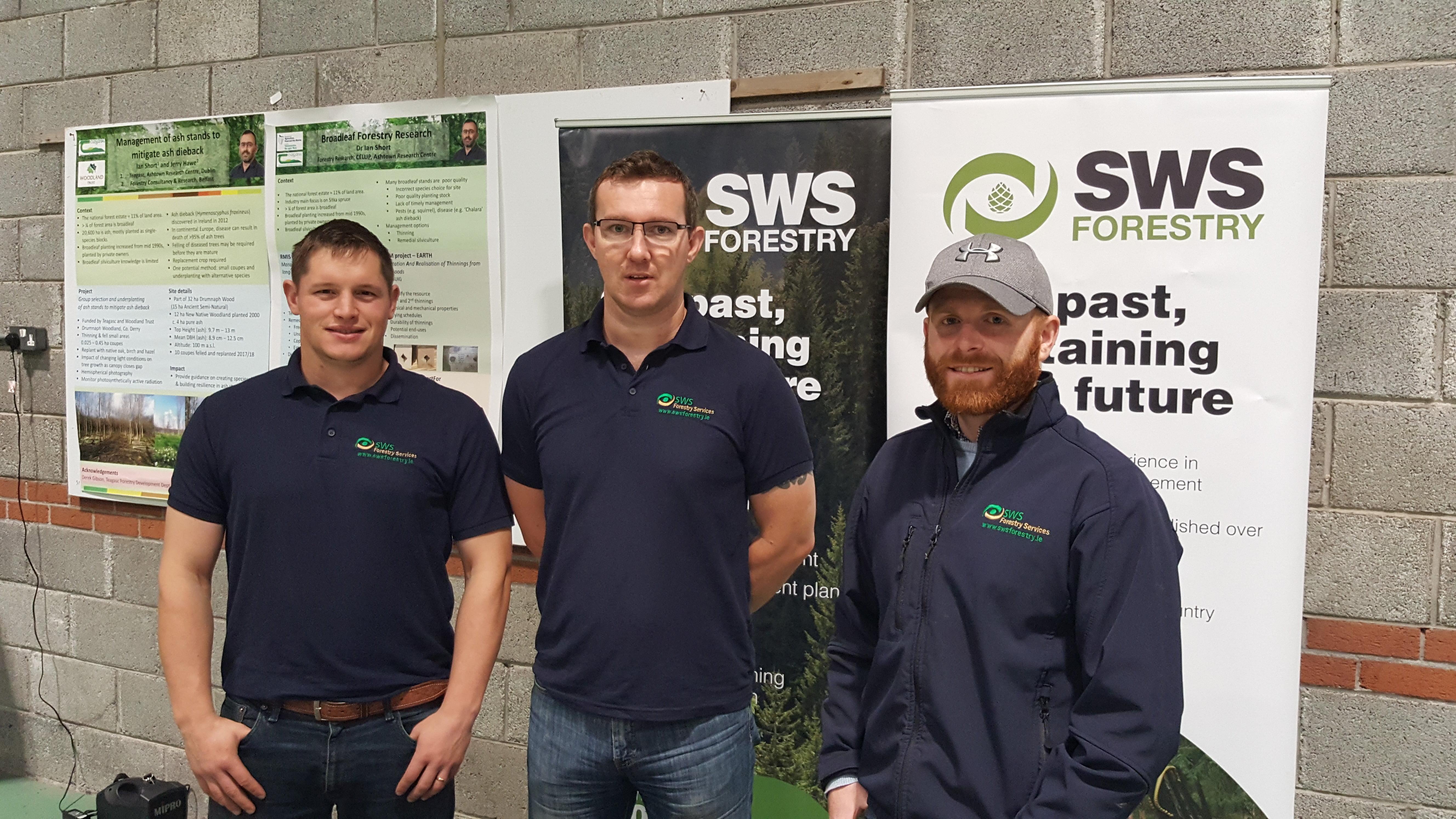 ash management field day in Ballyhaise College